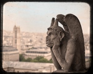Fig 3 - Gargoyle from Notre Dame, Paris